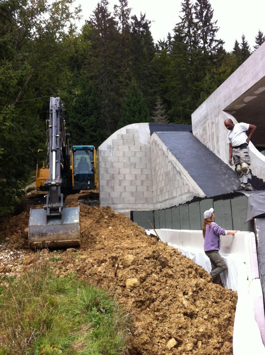 Construire une maison contemporaine maitre d 39 oeuvre lyon for Construire une maison gros oeuvre